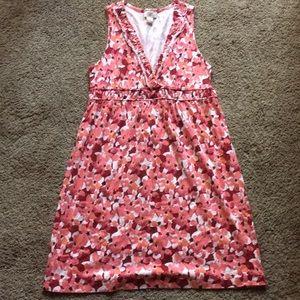 Ann Taylor LOFT  floral summer dress